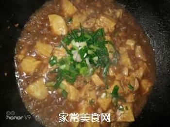 蚝油豆腐的做法步骤:7