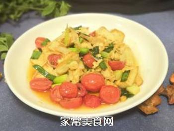 葱香豆腐的做法步骤:6