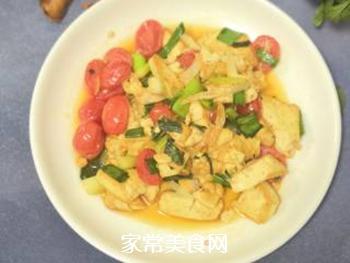 葱香豆腐的做法步骤:7