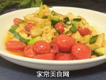 葱香豆腐的做法步骤:8
