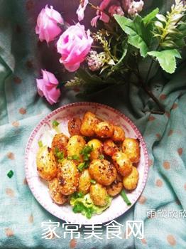 孜然小土豆的做法步骤:10