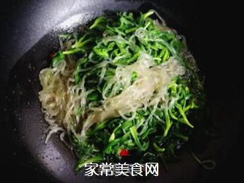 面条菜炒粉条的做法步骤:5