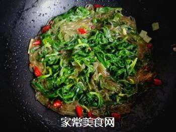 面条菜炒粉条的做法步骤:7