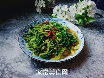 面条菜炒粉条的做法