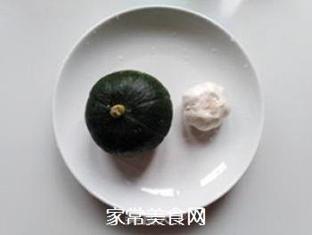 蒜子烧南瓜的家常做法