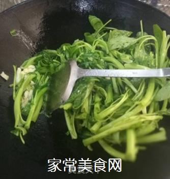 蒜泥空心菜的做法步骤:3