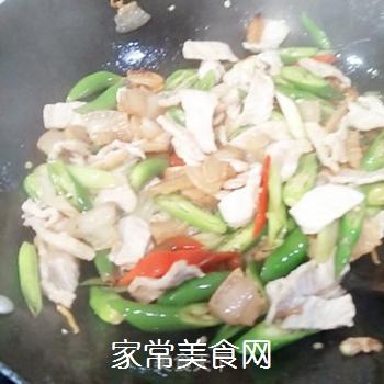 辣炒油麦菜的做法步骤:7