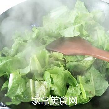 辣炒油麦菜的做法步骤:8