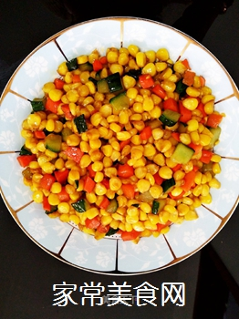 素炒玉米粒的做法