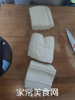 香煎豆腐的做法步骤:1
