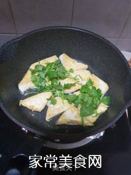 香煎豆腐的做法步骤:3