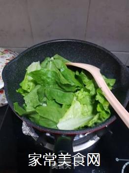 蒜蓉炒油麦菜的做法步骤:3