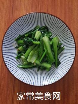 蒜蓉炒油麦菜的做法