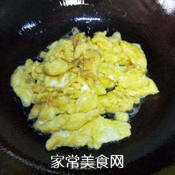 韭菜炒蛋的做法步骤:4