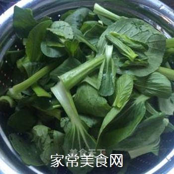 炒青菜的做法步骤:2