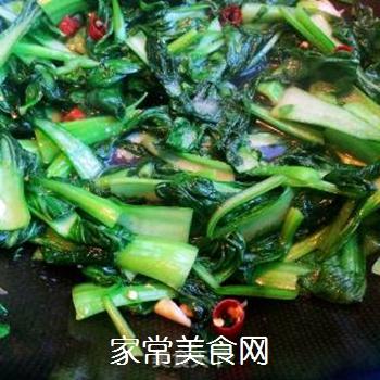 炒青菜的做法步骤:7