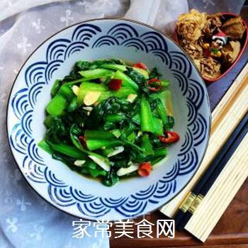 炒青菜的做法步骤:8