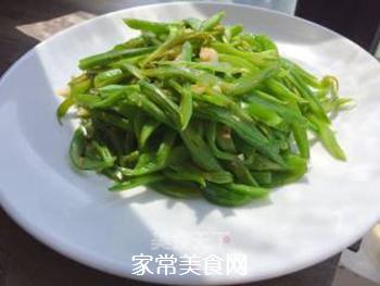 清炒刀豆(减脂餐)的做法步骤:4
