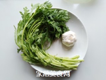蒜香蓬蒿菜的家常做法