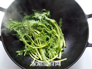 蒜香蓬蒿菜的做法步骤:5