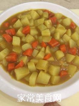 咖喱土豆的做法步骤:8