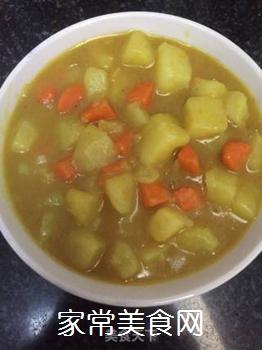 咖喱土豆的做法步骤:9