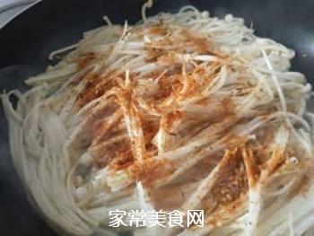 烧烤料金针菇的做法步骤:3