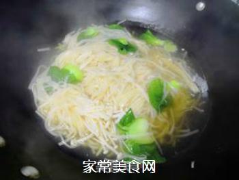 青菜汤面的做法步骤:8
