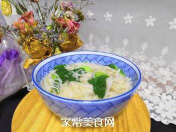 青菜汤面的做法步骤:10
