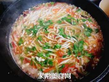 西红柿胡萝卜汤面的做法步骤:11