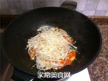酸汁金针菇的做法步骤:7