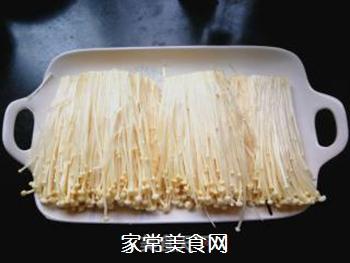 香辣金针菇的做法步骤:3