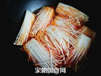 香辣金针菇的做法步骤:8