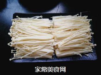 剁椒金针菇的做法步骤:2