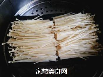 剁椒金针菇的做法步骤:3