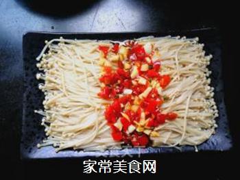 剁椒金针菇的做法步骤:10