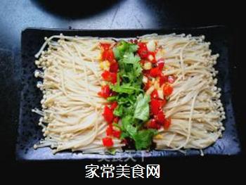 剁椒金针菇的做法步骤:11