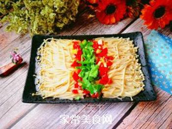 剁椒金针菇的做法步骤:13