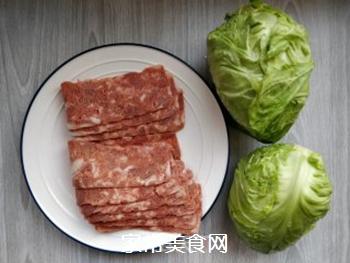 培根金针菇包菜卷的做法步骤:1