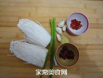 鱼香金针菇的做法步骤:1