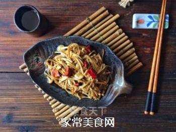 【闽南】油泼金针菇的做法步骤:5