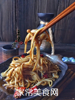 【闽南】油泼金针菇的做法