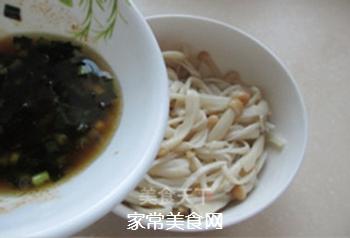 葱油金针菇的做法步骤:8