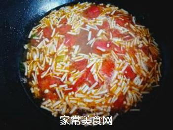 金针菇蛋花汤的做法步骤:8
