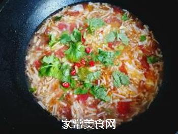 金针菇蛋花汤的做法步骤:10