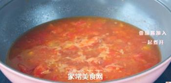 番茄龙利鱼汤的做法步骤:6