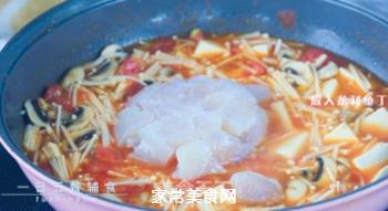 番茄龙利鱼汤的做法步骤:7