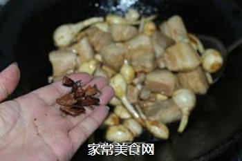 #御寒美食#茨菇烧五花肉的做法步骤:8