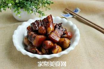 #御寒美食#茨菇烧五花肉的做法步骤:11