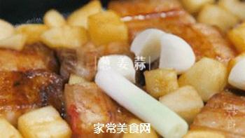 苹果烧肉的做法步骤:10